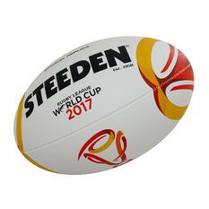 Steeden Rugby League World Cup 2017 11in Replica Ball, , rebel_hi-res