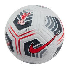 Nike Liverpool FC Strike Soccer Ball Multi 3, Multi, rebel_hi-res