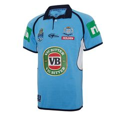 NSW Blues State of Origin 2017 Mens Classic Jersey, , rebel_hi-res