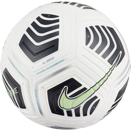 Nike Strike Soccer Ball White 5, White, rebel_hi-res