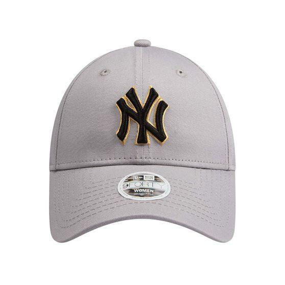 New York Yankees Womens New Era 9FORTY Gold Cap, , rebel_hi-res