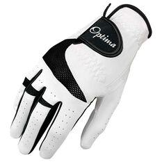 Optima XTD All Weather Mens Golf Glove White / Black Right Hand, White / Black, rebel_hi-res