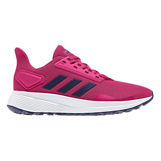 adidas Duramo 9 Kids Running Shoes, Pink, rebel_hi-res