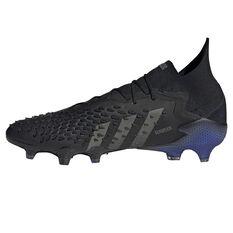 adidas Predator Freak .1 Football Boots Black/Pink US Mens 7 / Womens 8, Black/Pink, rebel_hi-res