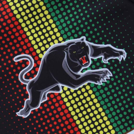 Penrith Panthers 2021 Mens Training Tee, Black, rebel_hi-res
