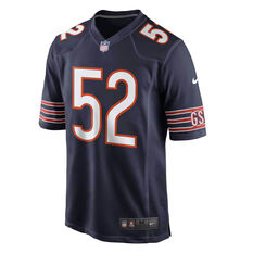 Chicago Bears Khalil Mack 2020 Mens Jersey Navy S, Navy, rebel_hi-res