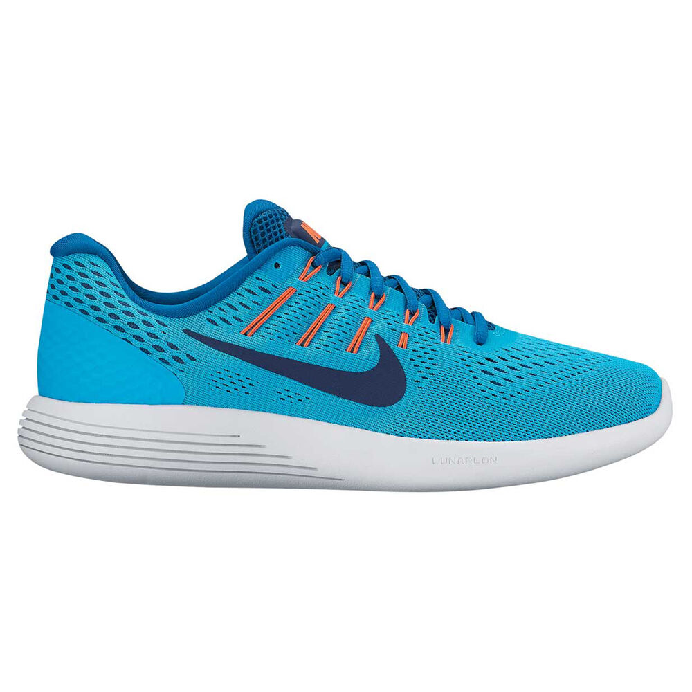 superior quality 46f6f 0d628 Nike Lunarglide 8 Mens Running Shoes Blue   Black US 8, Blue   Black,