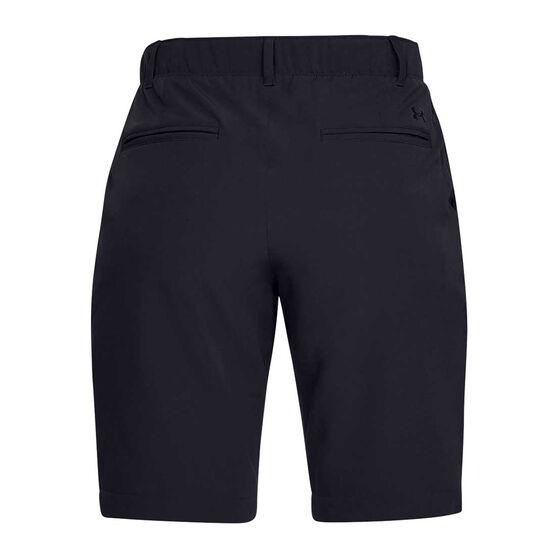 Under Armour Womens Links Shorts Black / Grey 10, Black / Grey, rebel_hi-res