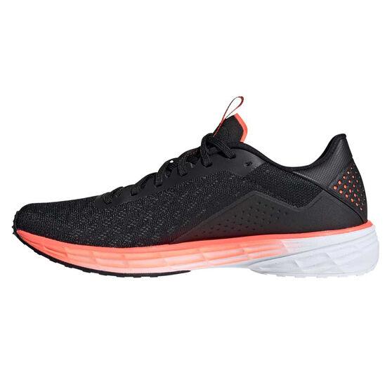 adidas SL20 Womens Running Shoes, Black/White, rebel_hi-res