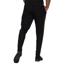 adidas Mens Tiro Pride Football Track Pants Black M, Black, rebel_hi-res