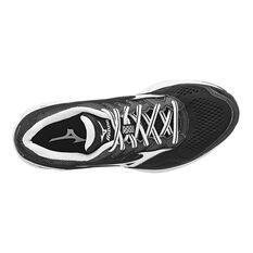 Mizuno Wave Rider 20 Womens Running Shoes Black / White US 6, Black / White, rebel_hi-res