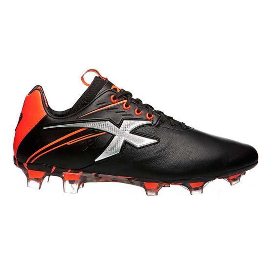 X Blades Jet III 19 Womens Football Boots, Black / Red, rebel_hi-res