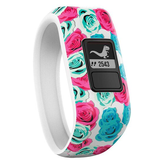 Garmin Vivofit Jr Fitness Band Real flower, , rebel_hi-res
