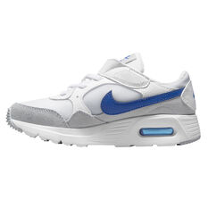 Nike Air Max SC Kids Casual Shoes White/Blue US 11, White/Blue, rebel_hi-res