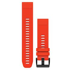 Garmin Fenix 5 QuickFit Silicone Band Flame Red 22mm, , rebel_hi-res