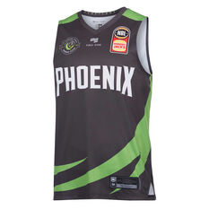 South East Phoenix 2019/20 Mens Home Jersey Grey L, Grey, rebel_hi-res