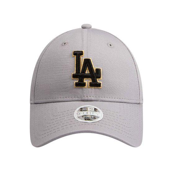 Los Angeles Dodgers Womens New Era 9FORTY Gold Cap, , rebel_hi-res