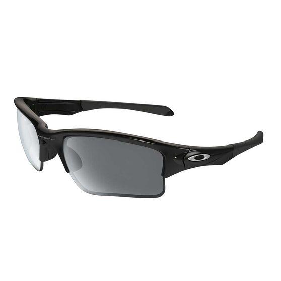 Oakley Quarter Jacket Polished Black Youth Sunglasses Black Youth, , rebel_hi-res
