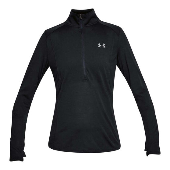 Under Armour Womens Threadborne Half Zip Top, , rebel_hi-res