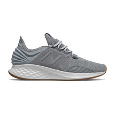 New Balance Fresh Foam Roav Mens Running Shoes Grey US 7, Grey, rebel_hi-res