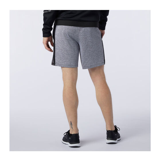 New Balance Mens Tenacity Knit Running Shorts, Grey, rebel_hi-res