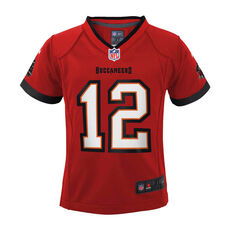 Tampa Bay Buccaneers Tom Brady 2020 Kids Jersey Red S, Red, rebel_hi-res