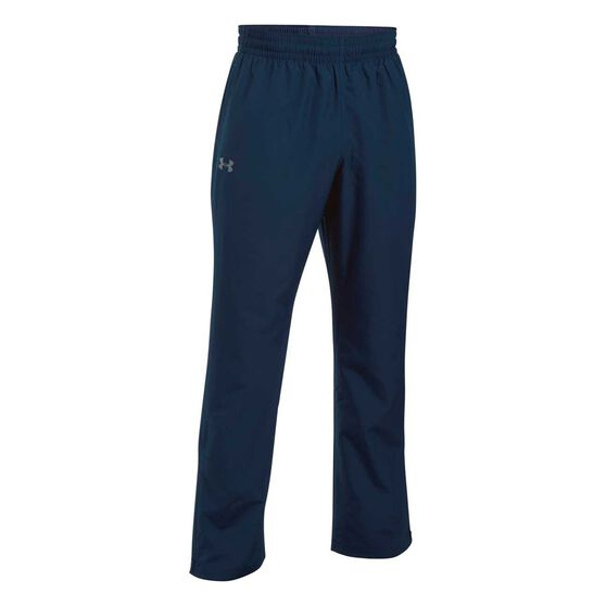 Under Armour Mens Vital Woven Training Pants, Navy, rebel_hi-res