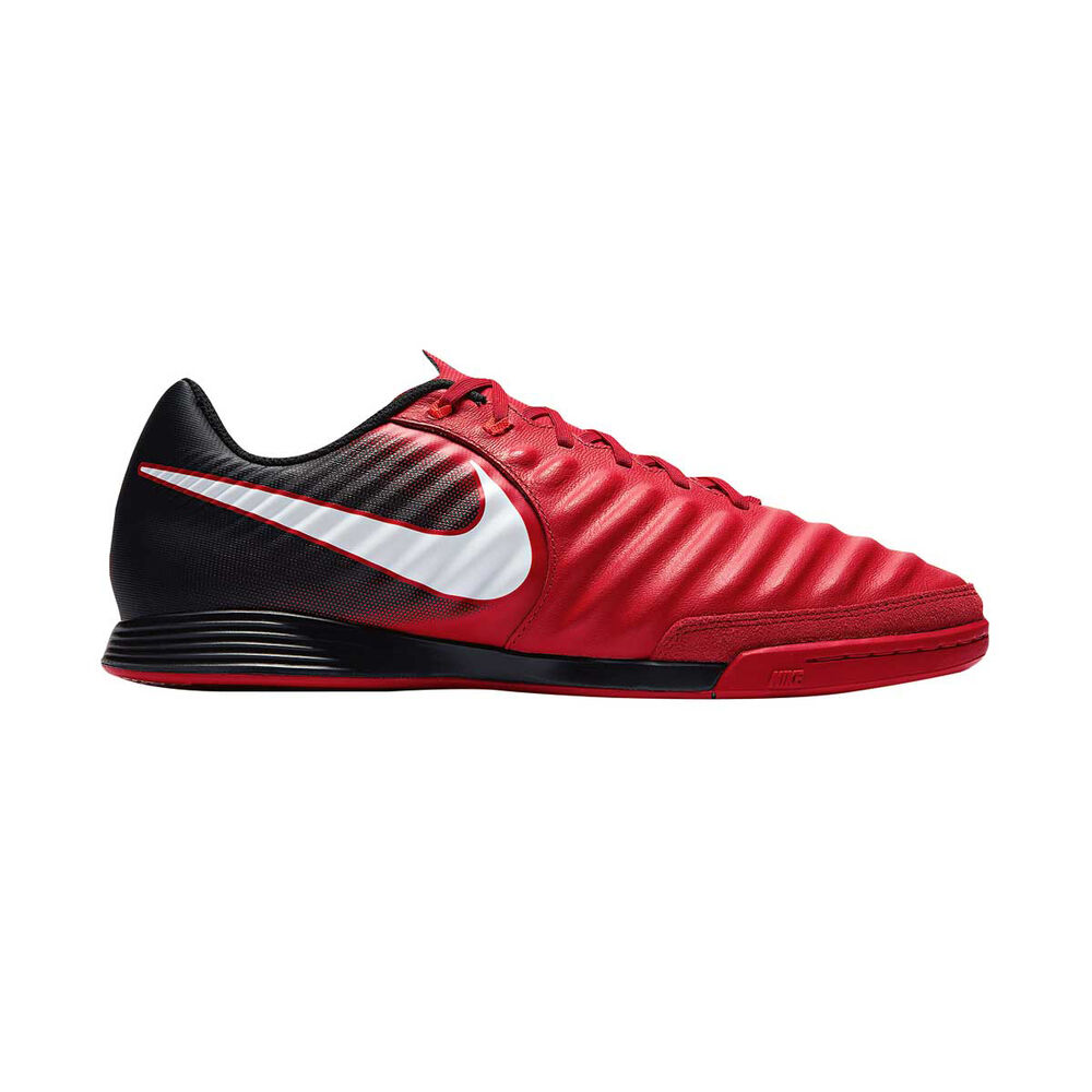 brand new e8db5 e41ec Nike TiempoX Ligera IV Mens Indoor Soccer Shoes Red   Black US 7 Adult, Red