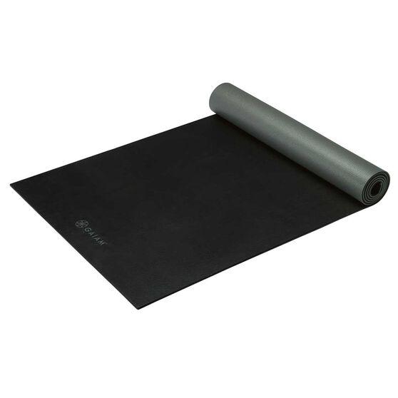 Gaiam Athletic Yoga Mat Grey / Black 5mm, , rebel_hi-res