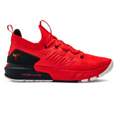 Under Armour Project Rock 3 Chinese New Year Mens Training Shoes Red US 8, Red, rebel_hi-res
