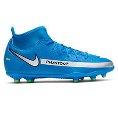 Nike Phantom GT Club DF Kids Football Boots Blue US 1, Blue, rebel_hi-res