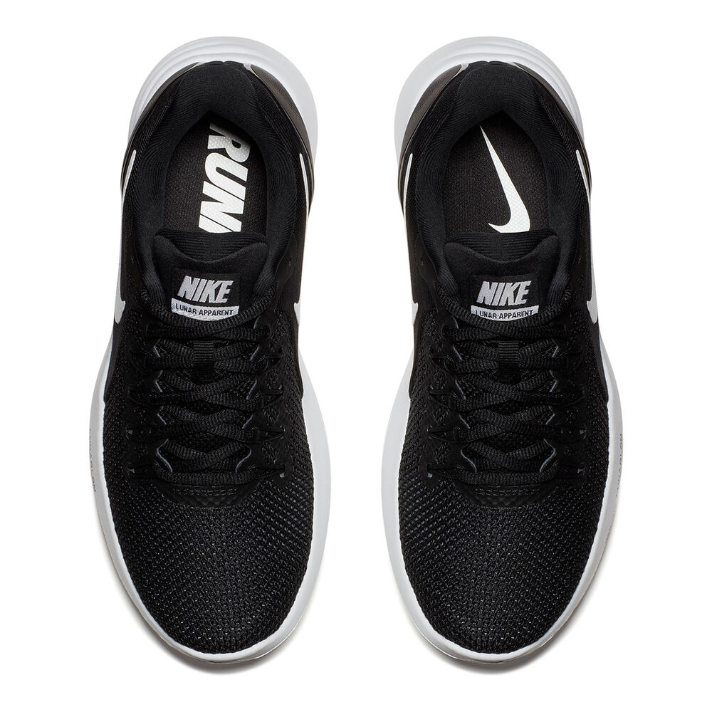 Nike Lunar Apparent Womens Running Shoes Black   White US 8  dcdbe4fb8