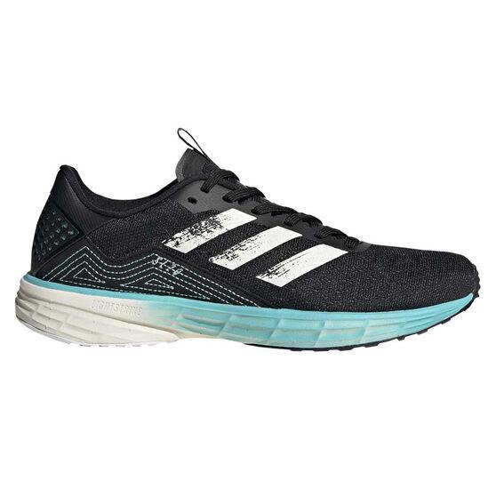 adidas Primeblue SL20 Womens Running Shoes, Black/White, rebel_hi-res