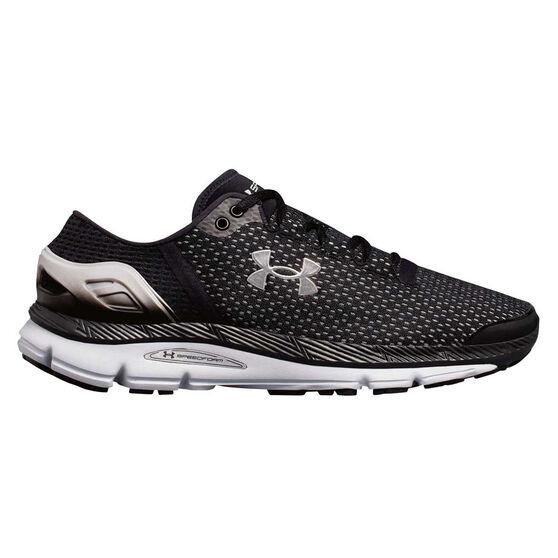 Under Armour Speedform Intake 2 Mens Running Shoes, Black / Grey, rebel_hi-res