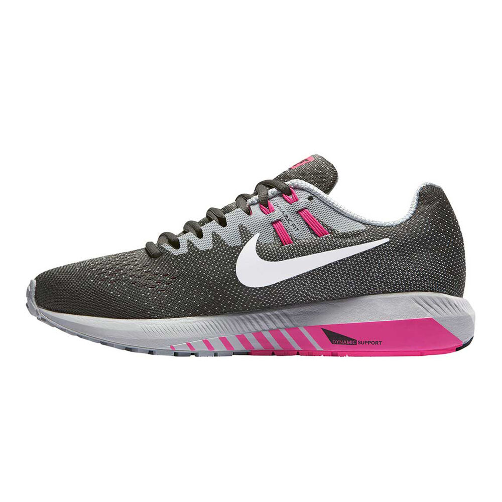 buy online ca07b 346aa Nike Air Zoom Structure 20 Womens Running Shoes Grey   Pink US 6, Grey