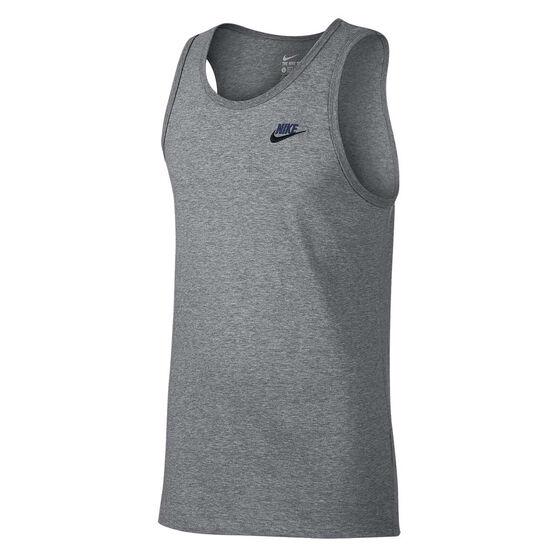 Nike Mens Sportswear Tank Grey S, Grey, rebel_hi-res
