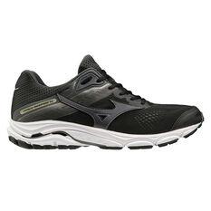 Mizuno Wave Inspire 15 2E Mens Running Shoes Black US 9, Black, rebel_hi-res
