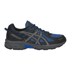 Asics GEL Venture 6 Mens Trail Trail Running Shoes Blue / Grey US 7, Blue / Grey, rebel_hi-res