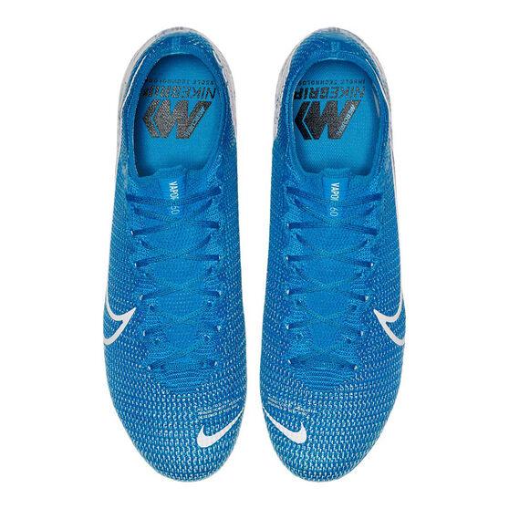 Nike Mercurial Vapor XIII Elite Football Boots, Blue / White, rebel_hi-res