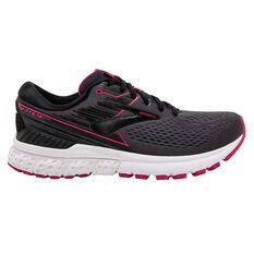 Brooks Adrenaline GTS 19 Womens Running Shoes Black / Grey US 7, Black / Grey, rebel_hi-res