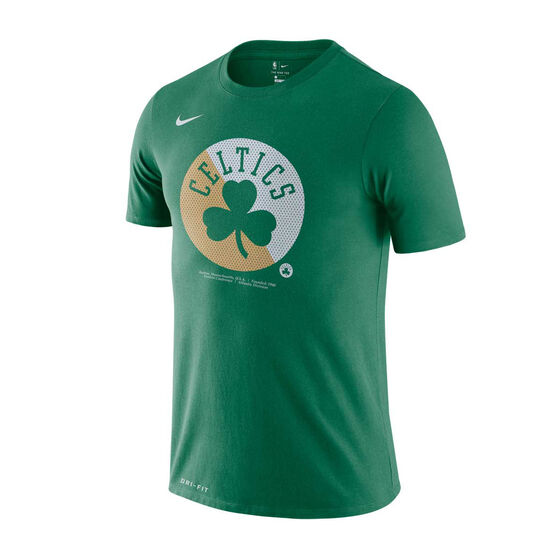 Boston Celtics Mens Dry Logo Tee, Green, rebel_hi-res