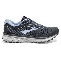 Brooks Ghost 12 Womens Running Shoes Blue / Black US 6, Blue / Black, rebel_hi-res