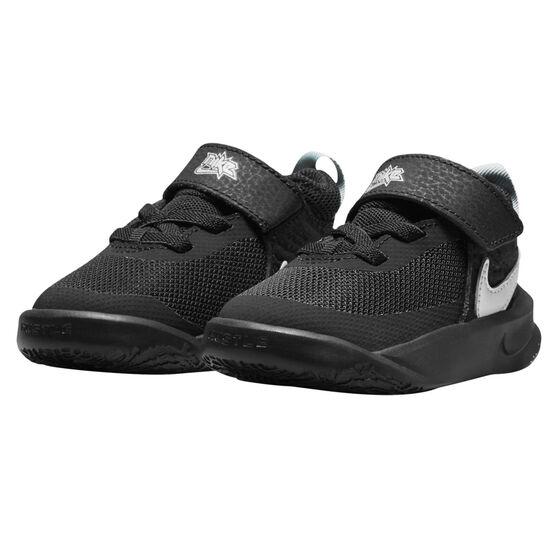 Nike Team Hustle D 10 Toddlers Shoes, Black/White, rebel_hi-res