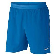 Nike Mens Distance 5in Lined Shorts Blue S, Blue, rebel_hi-res