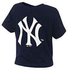 New York Yankees Womens Hoke Tee Navy XS, Navy, rebel_hi-res