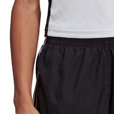 adidas Womens Marathon 20 Running Shorts, Black, rebel_hi-res