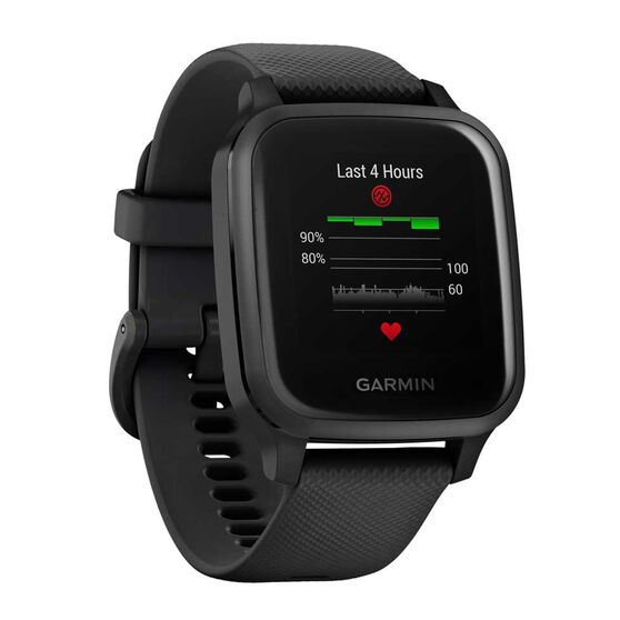 Garmin Venu Sq Music GPS Smartwatch - Black Slate, , rebel_hi-res