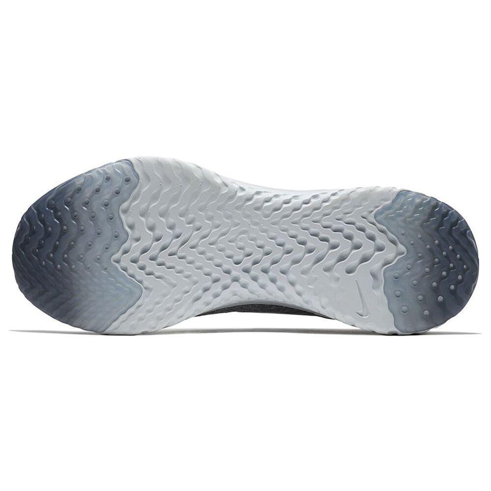 70382020383c Nike Epic React Flyknit Mens Running Shoes Grey   White US 13 ...
