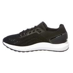 Under Armour HOVR Sonic 2 Womens Running Shoes Black / White US 9, Black / White, rebel_hi-res