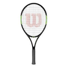 Wilson Blade Team 25in Junior Tennis Racquet Black / Green 25in, , rebel_hi-res